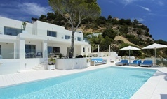 A luxury holiday villa in South Ibiza