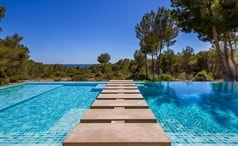 Private villa rental in Ibiza