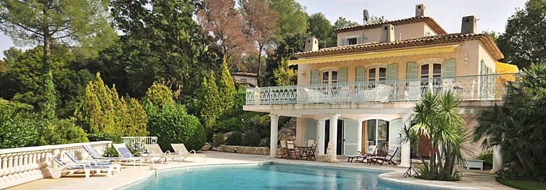Luxury South of France villa with pool