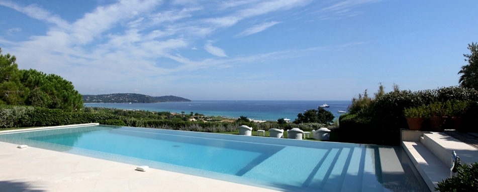 luxury Cote d Azur vacation villa