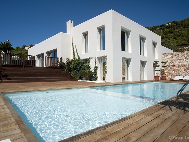 A luxury 4 bedroom holiday villa in San Jordi, Ibiza