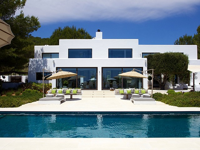 Exclusive rental villa in Ibiza