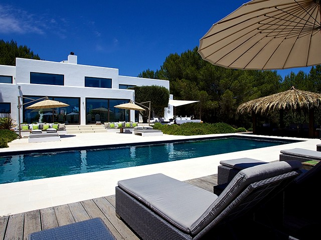 High end villa rental in Ibiza