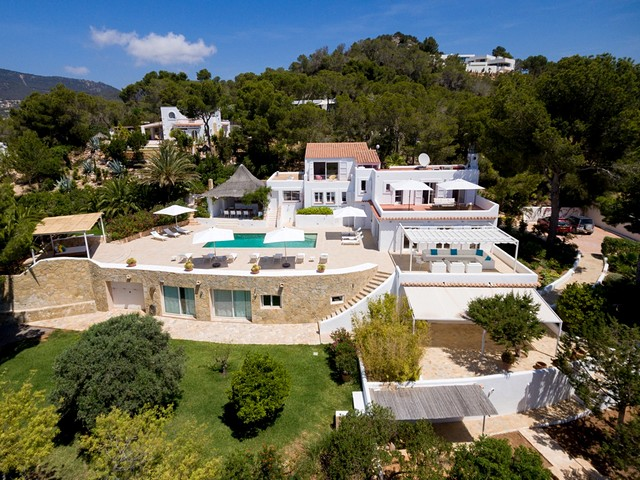 luxury holiday villa in south Ibiza