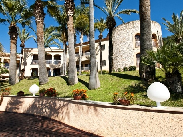 large holiday rental on Ibiza