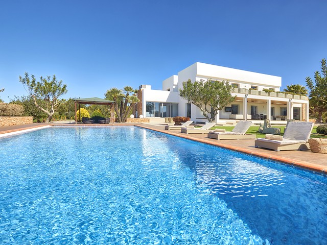 Ibiza villa with private pool