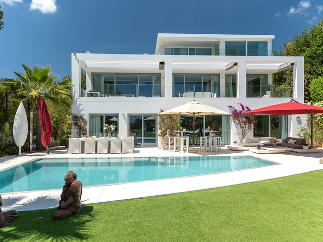 Large luxury villa for rent in Ibiza