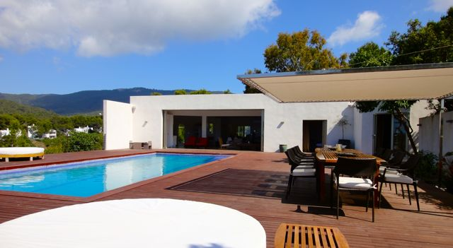 Ibiza holiday villa for rent in Cala Vadella, San José area