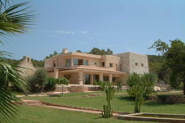 Large Ibiza villa for 18 people in villa in Sant Antoni de Portmany / San Antonio