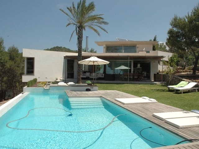 High quality villa for rent with sea and mountain views in San Antonio, Ibiza