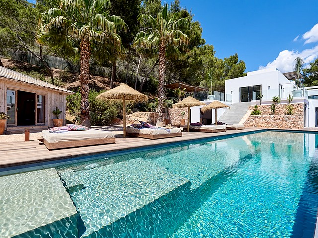 Beautiful Ibiza villa for 12 people in Sant Josep