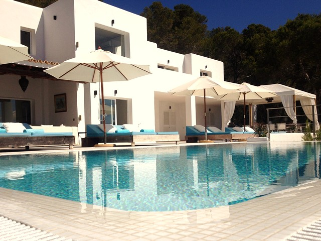 luxury holiday villa in es cubells, ibiza