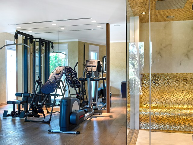 villa with gym in Ibiza