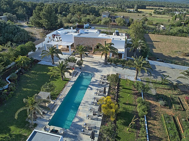 Luxury villa rental near ibiza town