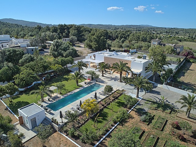 view of ibiza villa