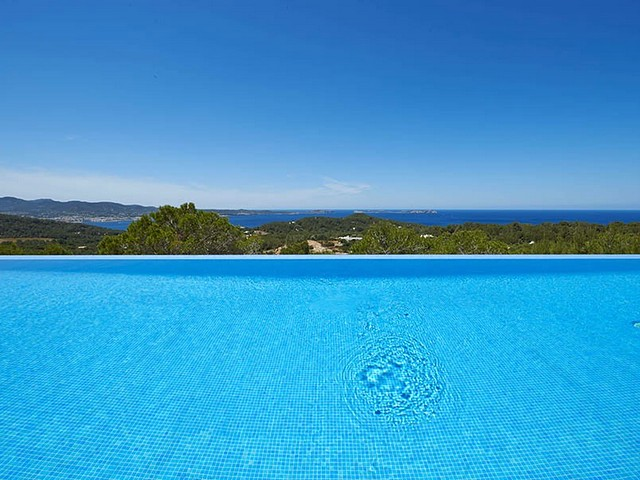 View from the villas infinity pool