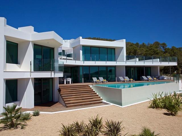 Stunning 7 bedroom Ibiza villa with beautiful views of Formentera Island