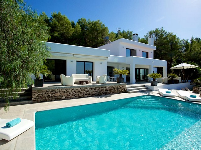 A beautiful private holiday villa in Sant Josep de sa Talaia, Ibiza