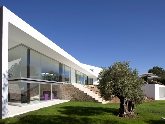 modern ibiza villa for rent