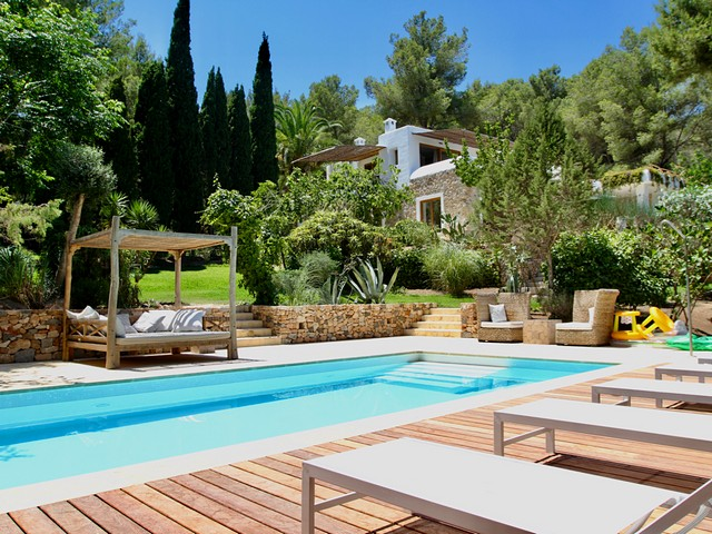 A beautiful luxury villa for rent near San Rafael, Ibiza