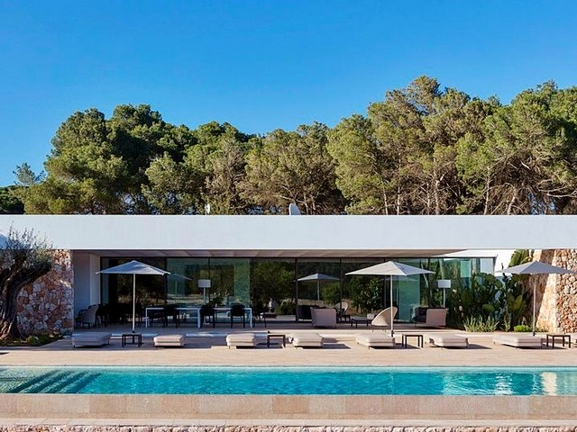 rental villa in ibiza for 14 people