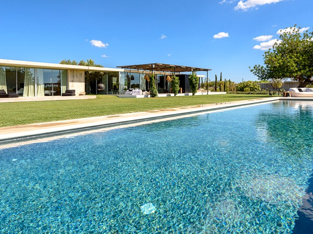 Luxury Ibiza villa rental near Santa Eulalia