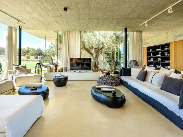 inside the luxury ibiza villa